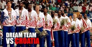 The Dream Team vs Croatio 1992 Olympics Gold Medal FULL Game!