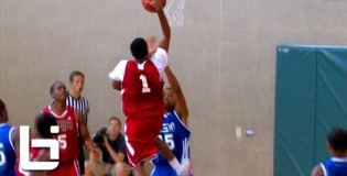 6'1″ Kasey Hill POSTERIZES Defender & Makes Him Fall At Adidas Super 64!!