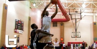 Andrew Wiggins Sick Putback Dunk After Own Miss + Aaron Gordon Takes It Coast To Coast! Peach Jam Day 1 Top Plays!