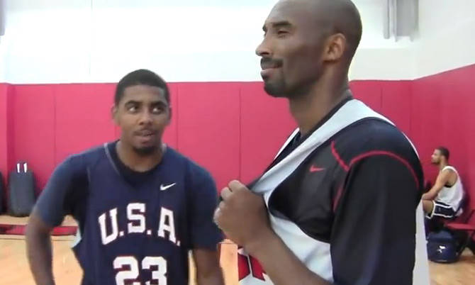 Kyrie Irving Challenges Kobe to play 1on1 for $50k