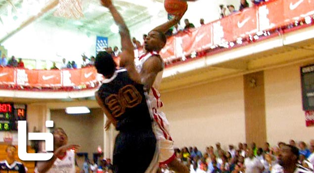 Andrew Wiggins Absolutely DOMINATES Nike Peach Jam! Best Player In The Nation Regardless Of Class!