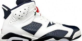 Olympic Retro Air Jordan 6