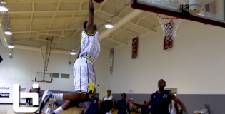 Dunk of the Day: Christian Hairston Puts Knee in Defenders Chest & ELEVATES at Reebok Showdown Series