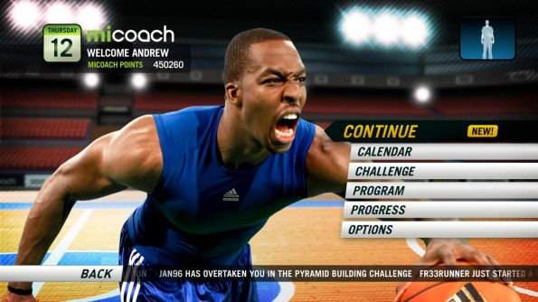 Adidas miCoach Videogame Behind the Scenes w Dwight Howard