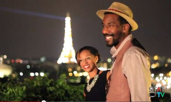 Amar'e Stoudemire Filmed His Marriage Proposal In France