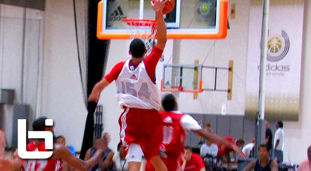 6'8 Ben Simmons Puts Australia On His Back & Impresses Many At 2012 Adidas Nations!