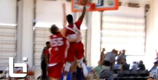 Emmanuel Mudiay Dunks On Defender And1 + Noah Vonleh 2 Hand Dunk On Defender; Adidas Nations Day 1 Top 5