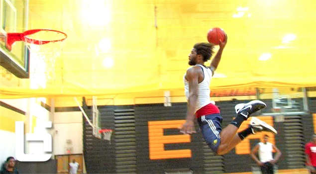 Ballislife | Anthony Smith Almost FT Line Dunk
