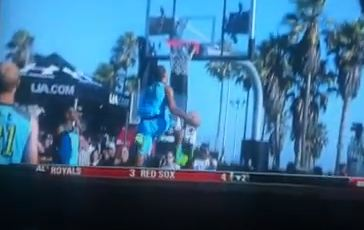 Aaron Gordon Between The Legs Dunk In Elite 24 Game!