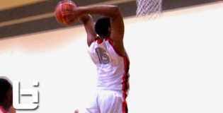 Top 16 Year Old In The Nation 6&#8217;11&#8243; Jahlil Okafor Goes To WORK at Big Foot Hoops Las Vegas Classic!