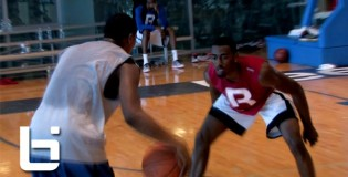 19 YR Old Ricardo Ledo Goes Head-to-Head with John Wall at 2012 Reebok Hoop Summit at RBK Headquarters