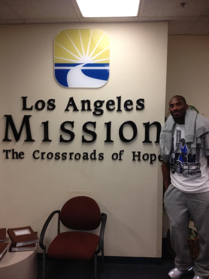 """Kobe Bryant's """"My Friends Place"""" journey to help end homelessness"""