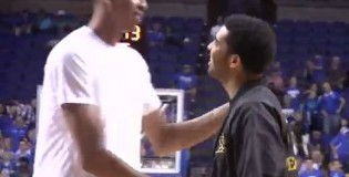 Anthony Davis Impresses His Coach Drake & Drops 40 points in the 2012 Kentucky Alumni Game