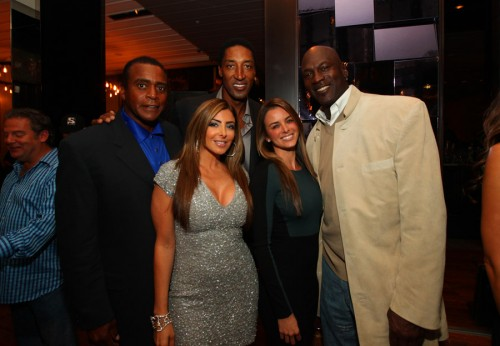 Michael Jordan Shows Up To Pippen S Birthday Party With A Horrible