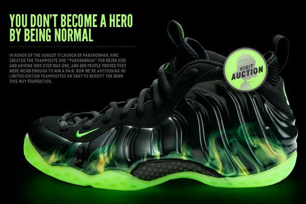 outlet store 9255b 2c837 Nike Ebay Auction: ParaNorman Foamposites for Born This Way ...