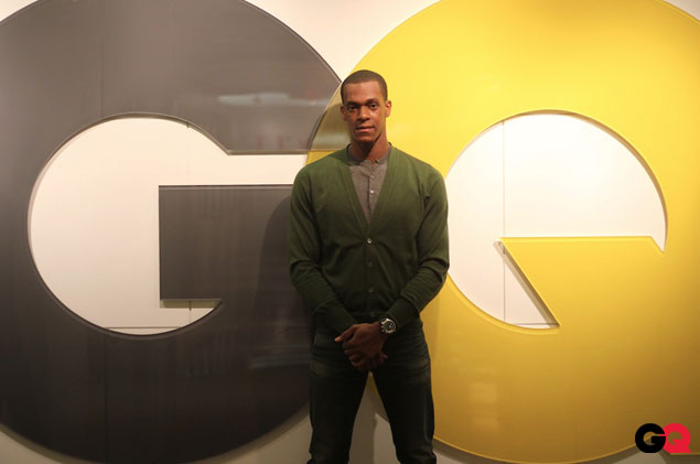 Rajon Rondo talks (in another language) about being a GQ Intern