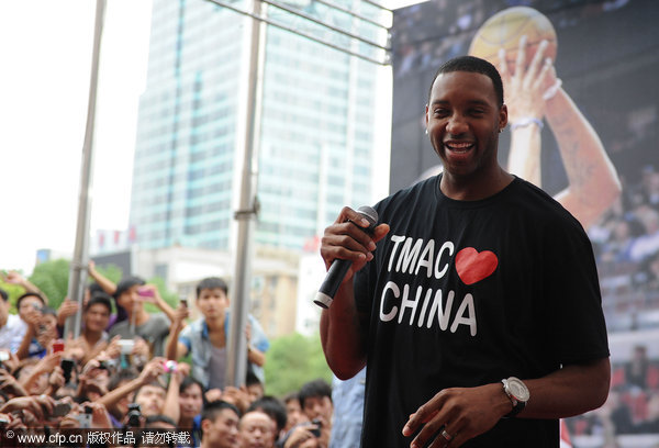 Tracy McGrady posts farewell letter to Fans on Facebook