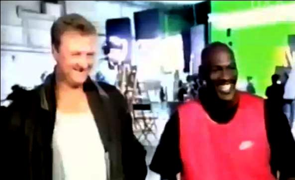RARE: NBA Inside Stuff From '90's; Michael Jordan, Bird, Barkley, Malone & MORE! [VIDEO]