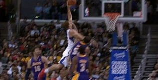 Blake Griffin Skies For The Nice Left Hand Dunk On Sacre And1 vs Lakers!
