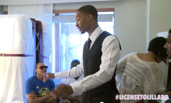 Damian Lillard: License to Lillard, Episode 3: The Draft | Awesome Series On Blazers Rookie