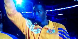 Dwight Howard Gets Introduced As A Laker For The FIRST Time EVER! [VIDEO]