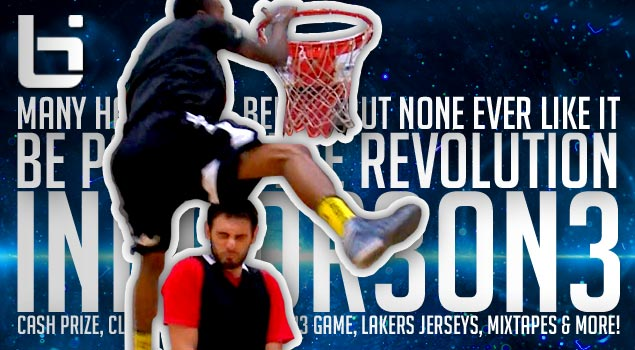 1st Time Ever! Be Part of The New Revolution & Showcase Your Skills! Indoor 3 on 3 Trailer Promo!