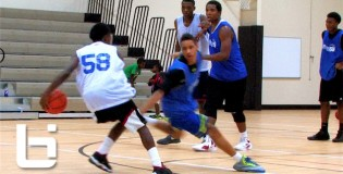 Ballislife South Play Of The Day: Neal Twins Breaking Players Down Back2Back At The Future 150 Camp!