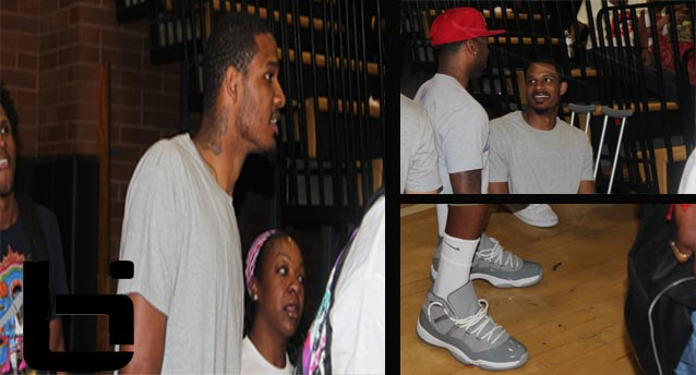 Trevor Ariza Shows Off His Jordan 11 Cool Greys