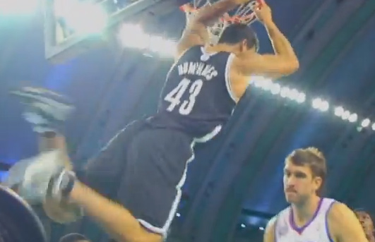 Kris Humphries dunk is 1st basket in Brooklyn Nets history