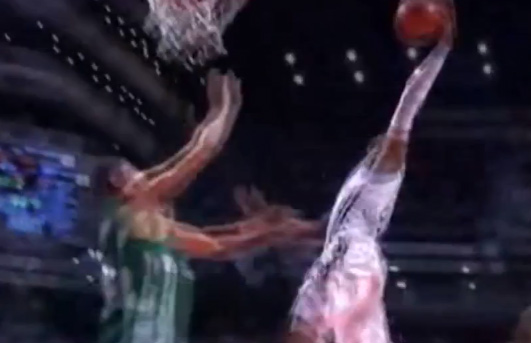 Marcus Slaughter's dunk against Panathinaikos