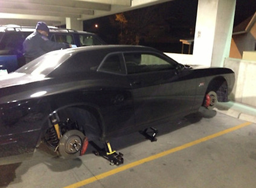 Paul George Tweets Picture Of His Car After 3k Rims Were