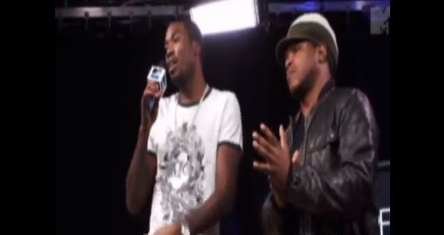 Meek Millz Freestyle with sway on Rap fix