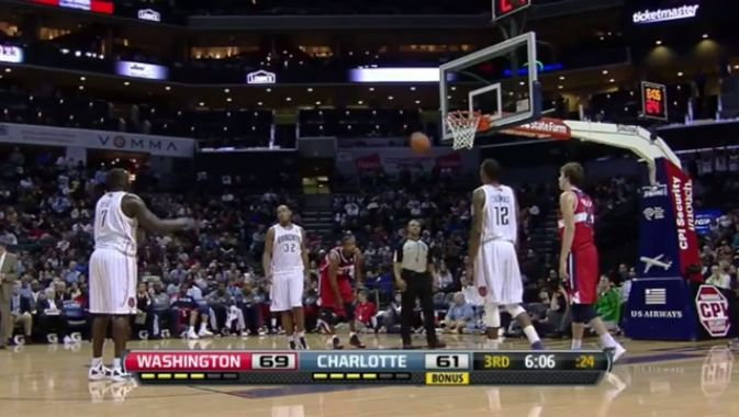 Dwight Howard Is A Great Free-throw Shooter Compared To This; Air Ball & Some