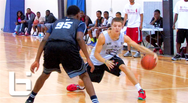 "6'2″ Andrew Dotson aka ""White Chocolate"" – Has NASTY HANDLES!"