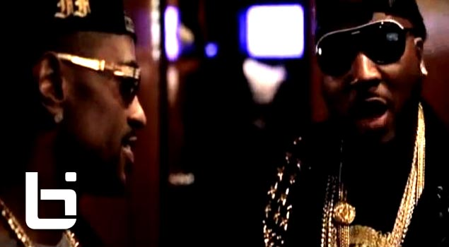 Big Sean-Fear+Sean Runs Into Young Jeezy Back Stage