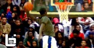 6'3 Kendrick Nunn Kills 2 Nasty One Hand Alley-Oops!! #1 Chicago Simeon Scrimmage Game! (Illinois commit)