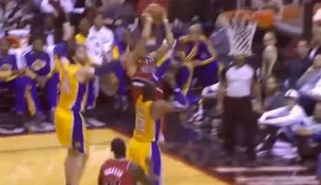 Nicolas Batum Dunks ON Dwight Howard!