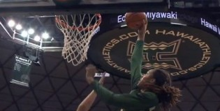 Brittney Griner With Her 8th Career Dunk at Baylor