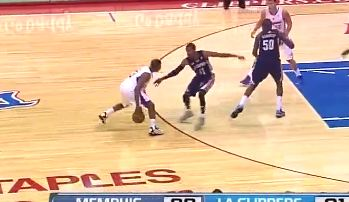 Chris Paul Toying With Mike Conley Last Night; Nasty Handles!