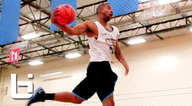 Ballislife | Indoor 3 on 3 Dunk Contest Porter Maberry G-Smith