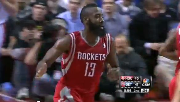 James Harden Goes For 37, 6 & 12 In Rockets Debut [FULL Highlights + Interview]