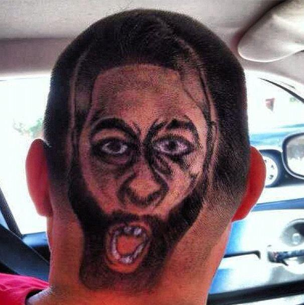 Fan Gets James Harden Cut On The Back Of His Head