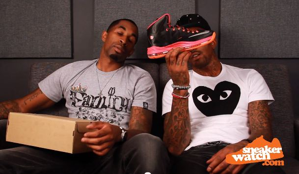 JR Smith Reviews The LeBron 10's But Doesn't Approve The $270 Price Tag [Video]