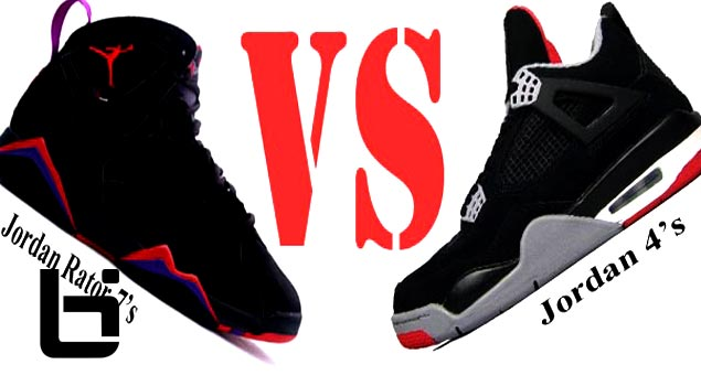 Is The Raptor 7s Better Then The Jordan 4s (IV)?