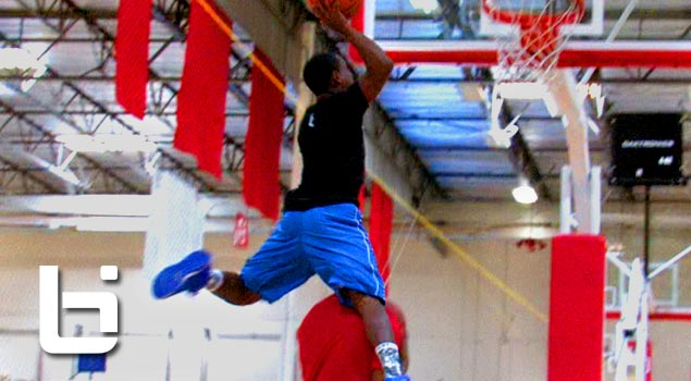 5'5 Porter Maberry Shortest Pro Dunker In The World CRAZY Hops! CLEARS Standing Person With EASE!!