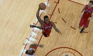 Terrence Ross With 3 NASTY Dunks Last night vs Houston!