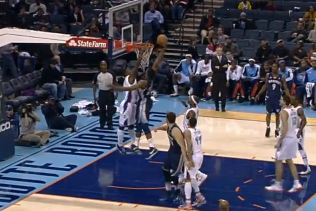 Rudy Gay Dunks On Michael Kidd-Gilchrist