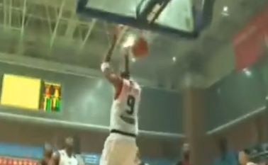 Tracy McGrady Reverse 2 Hand Dunk in 2nd game in China! Full Highlights Included