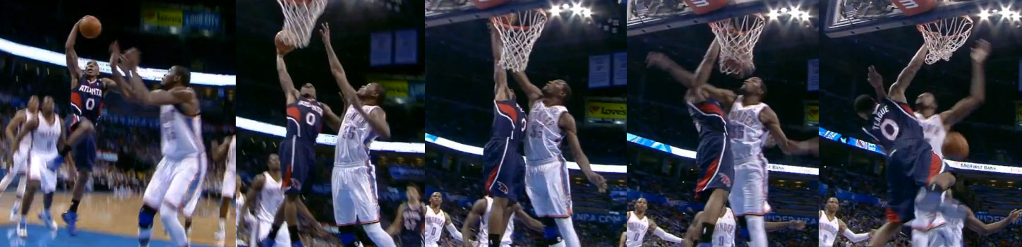 Jeff Teague Dunks On Kevin Durant It Counts This Time Ballislifecom