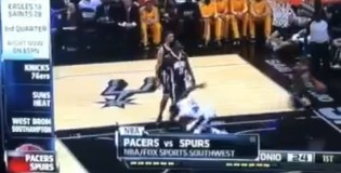 SportsCenter Anchor says absolutely nothing correct about the Spurs/Pacers game